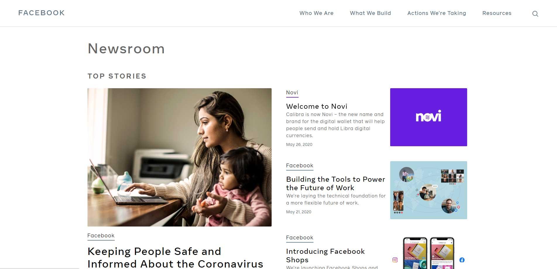 Notable WordPress site